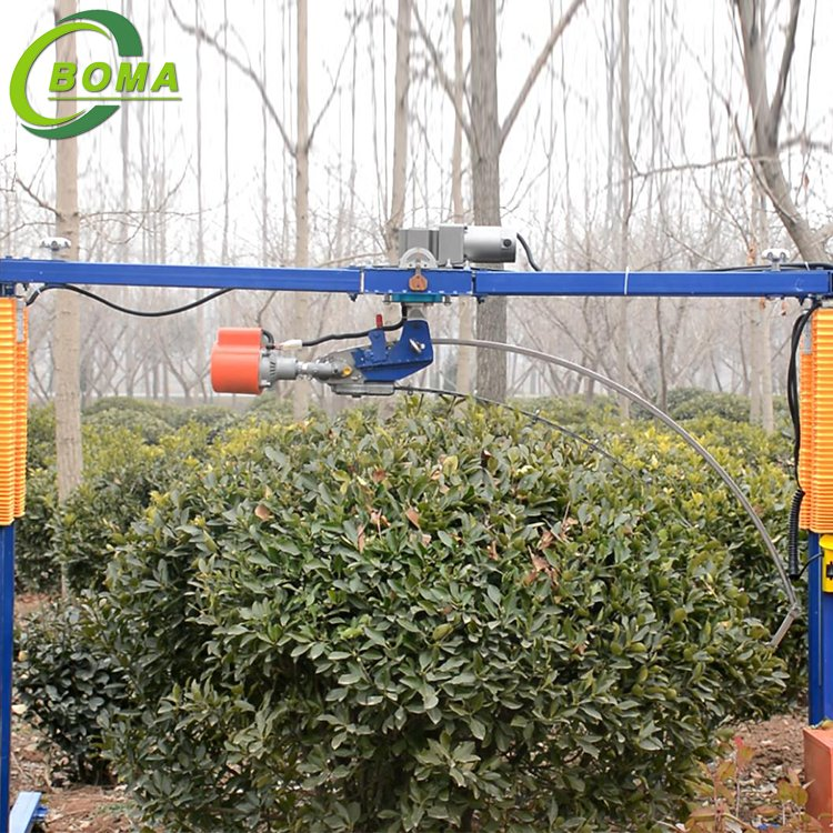Best Round Bush Trimming Machine with Lithium Battery for Home Garden and Nursery