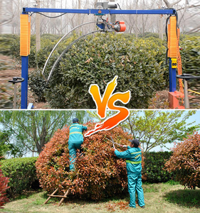 New Professional Spherical Pruners Machine with Bendable Blades for Nursery Garden