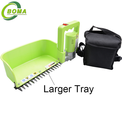 New Product Electric Mini Tea Leaf Harvester with Larger Tray for Tea Plantation