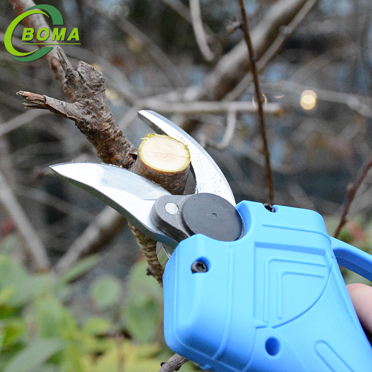 High Efficiency Hand Held Battery Operated Trimming Scissors for Agricultural Works