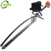 500W Cordless Electric Hedge Trimmer With Lithium Battery Backpack for bushes