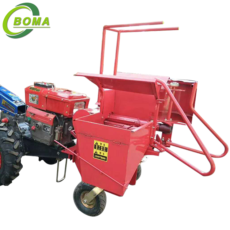Environmental Friendly Single Man Mini Maize Harvesting Machine for Farm Use