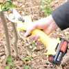 Rechargeable Garden Scissors Pruner with Two Rechargeable Lithium Battery Made in China