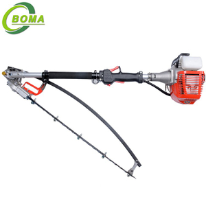 High Quality Curved 700w 26cc Petrol Hedge Trimmer for Garden and Yards