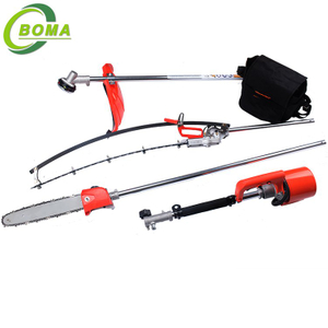 BOMA Multifunctional 3 in 1 Hedge Shears Grass Cutter and Chainsaw Trimmer for Municipality