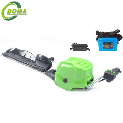Single Blade Electric Engine Backpack Type Hedge Trimmers for Commercial and Residential Landscape Projects