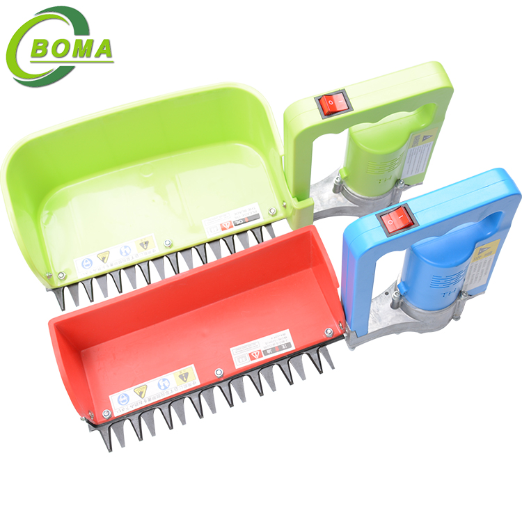 Customized Single Man Tea Hedge Trimmer Hand Plucking Machine with Battery Backpack for Crops and Tea Factory