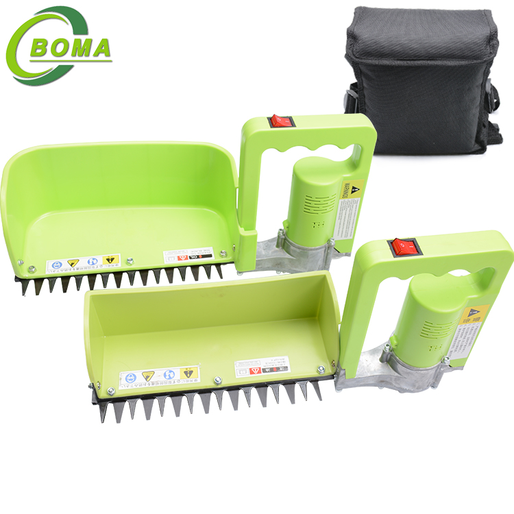 Electric Mini Tea Leaf Harvester with Larger Collecting Bin