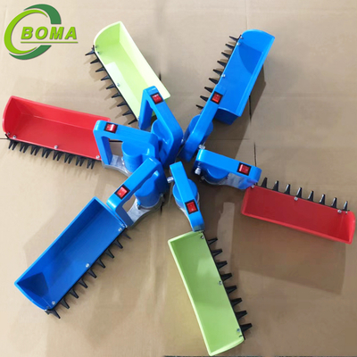 2018 The Newest Mini Tea Harvester Developed by BOMA Company