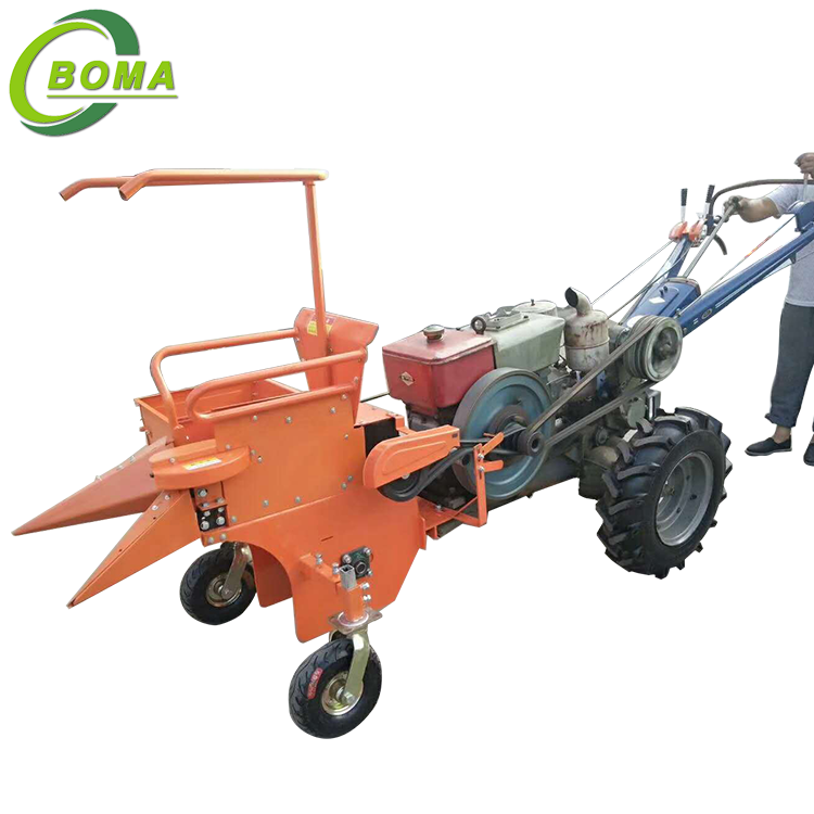 High Efficiency Mini Corn Harvesting Machine for Agricultural Use