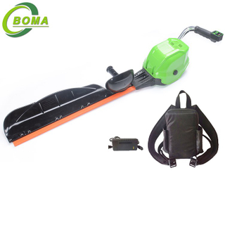 High Power Single Blade Electric Cordless Tea Pruner Hedge Trimmer for Garden