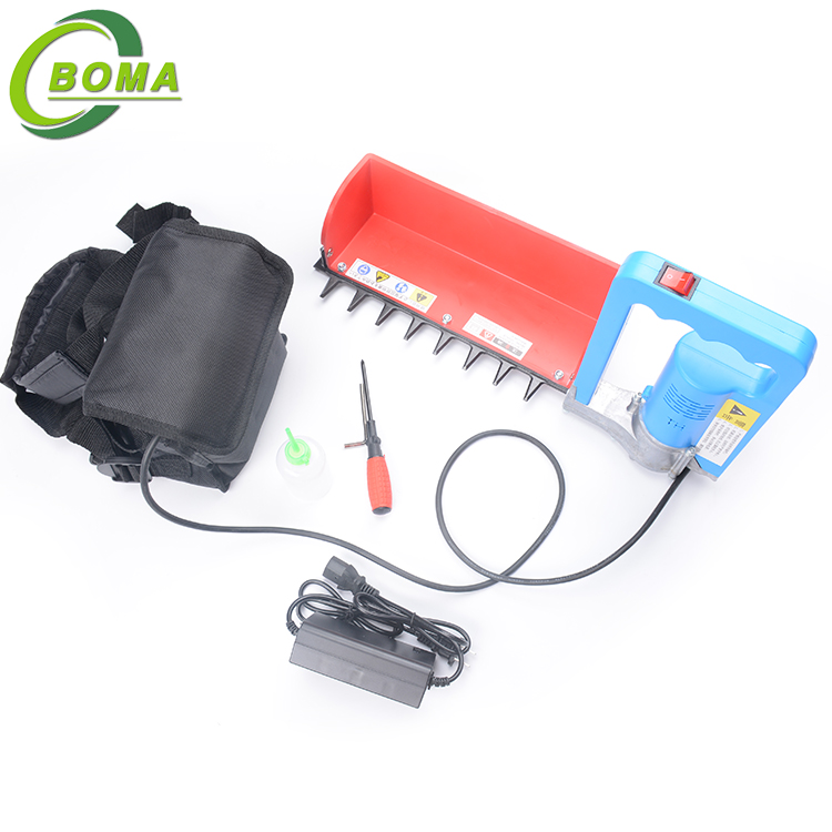 Hot Sale Rechargeable Electric Mini Tea Leaf Plucking Machine